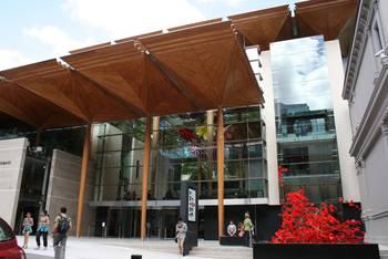 Die Auckland Art Gallery von außen