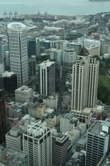 Blick vom Skytower auf Auckland