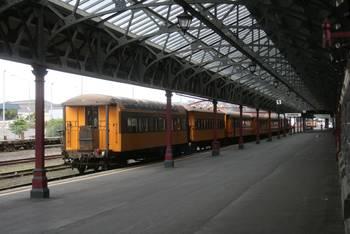 Die Waggons der Taieri Gorge Railway