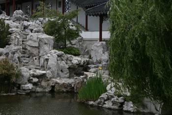 Ansicht im Chinesischen Garten in Dunedin (Chinese Garden)