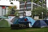 Lager der Occupy-Bewegung, die in mehreren Städten Neuseelands sehr aktiv ist.
