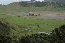 Blick vom East Cape landeinwärts
