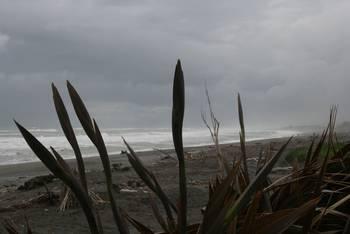 Und noch eine Strandimpression von Hokitika
