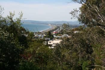 Blick vom Bluff Hill auf Napier