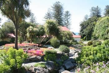 Im Centennial Garden in Napier