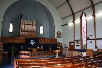 Methodistischen Gemeinde, St Johns in the City von innen