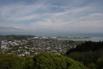 Ein herrlicher Blick vom Centre Of New Zealand Monument, Maitai, Neuseeland