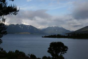 Wunderschöner Blick auf den Lake Te Anau