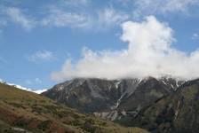 Atemberaubende Bergansichten längs des Lake Pukaki