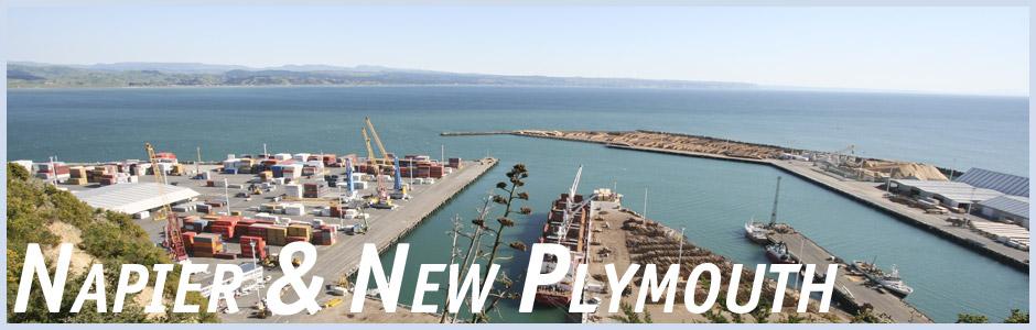 Herzlich willkommen auf meinem Reisetagebuch Napier und New Plymouth in Neuseeland