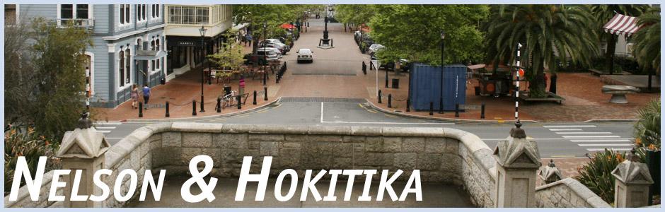 Herzlich willkommen auf meinem Reisetagebuch Nelson und Hokitika in Neuseeland