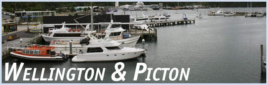 Herzlich willkommen auf meinem Reisetagebuch Wellington und Picton in Neuseeland